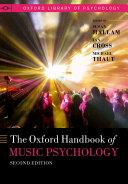 The Oxford Handbook of Music Psychology Pdf/ePub eBook