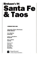 Birnbaum s Santa Fe and Taos  1994
