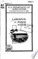 """Larkspur Or """"poison Weed"""""""