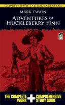 Adventures of Huckleberry Finn Thrift Study Edition Pdf/ePub eBook