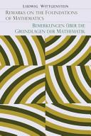 Remarks on the Foundation of Mathematics [Bemerkungen Uber Die Grundlagen Der Mathematik]