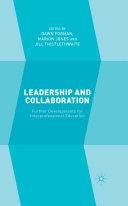 Pdf Leadership and Collaboration