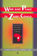 War and Peace in Zaire-Congo