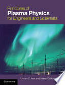 Principles Of Plasma Physics For Engineers And Scientists Book PDF