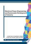 Electrical Power Engineering And Sustainable Development Of Industry Book PDF