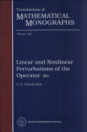 Linear and Nonlinear Perturbations of the Operator Div