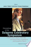 Proceedings of the Dalgarno Celebratory Symposium