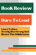 Book Review - Dare To Lead