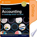 Complete Accounting for Cambridge IGCSE and O Level