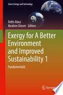 Exergy For A Better Environment And Improved Sustainability 1 Book PDF