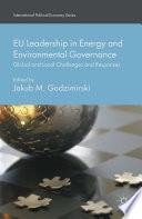 EU Leadership in Energy and Environmental Governance Book