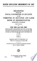 Higher Education Amendments Of 1967