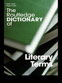 The Routledge Dictionary of Literary Terms Pdf/ePub eBook