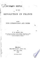 Reflections on the Revolution in France Book