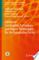 Advanced Combustion Techniques and Engine Technologies for the Automotive Sector