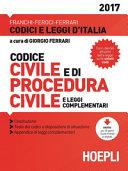 Codice civile. Con procedura civile 2017