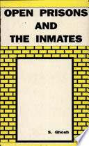 Open Prisons And The Inmates Book PDF
