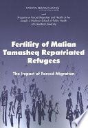 Fertility Of Malian Tamasheq Repatriated Refugees