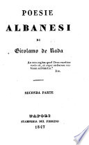 Poesie Albanesi