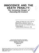 Innocence and the Death Penalty