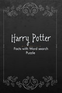 Harry Potter Facts with Word Search Puzzle