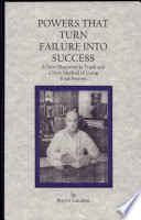 Powers That Turn Failure Into Success Pdf/ePub eBook