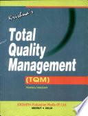 Krishna's Total Quality Management: (TQM)