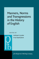 Pdf Manners, Norms and Transgressions in the History of English