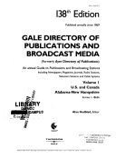 Gale Directory of Publications and Broadcast Media: An ...