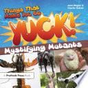 Things That Make You Go Yuck  Book PDF
