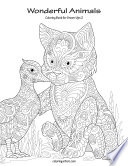 Wonderful Animals Coloring Book for Grown Ups 2
