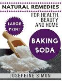 Baking Soda    Large Print Edition