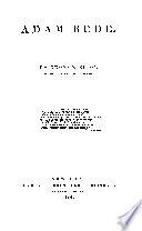 Adam Bede Book