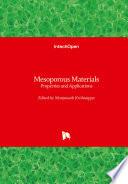 Mesoporous Materials