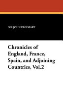 Chronicles Of England France Spain And Adjoining Countries