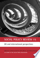 Social Policy Review 15
