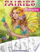 Fairies. Grayscale Coloring Book