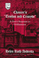 Chaucer S Troilus And Criseyde
