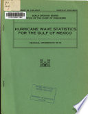 Hurricane Wave Statistics for the Gulf of Mexico