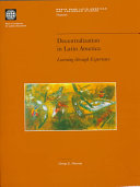 Decentralization in Latin America