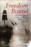 Freedom Bound  : Law, Labor, and Civic Identity in Colonizing English America, 1580–1865