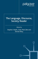 Pdf The Language, Discourse, Society Reader Telecharger
