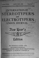 International Stereotypers' and Electrotypers' Union Journal