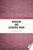 Boredom and Academic Work