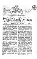 Frankfurter Ober-Post-Amts-Zeitung