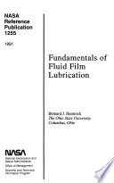 Fundamentals of Fluid Lubrication
