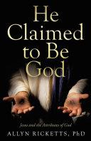 He Claimed to Be God Pdf/ePub eBook
