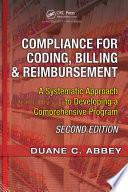 Compliance for Coding, Billing & Reimbursement