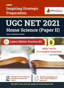 UGC NET Home Science  2020   20 Full length Mock Test  Paper I   II