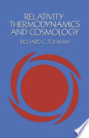 Relativity  Thermodynamics  and Cosmology Book